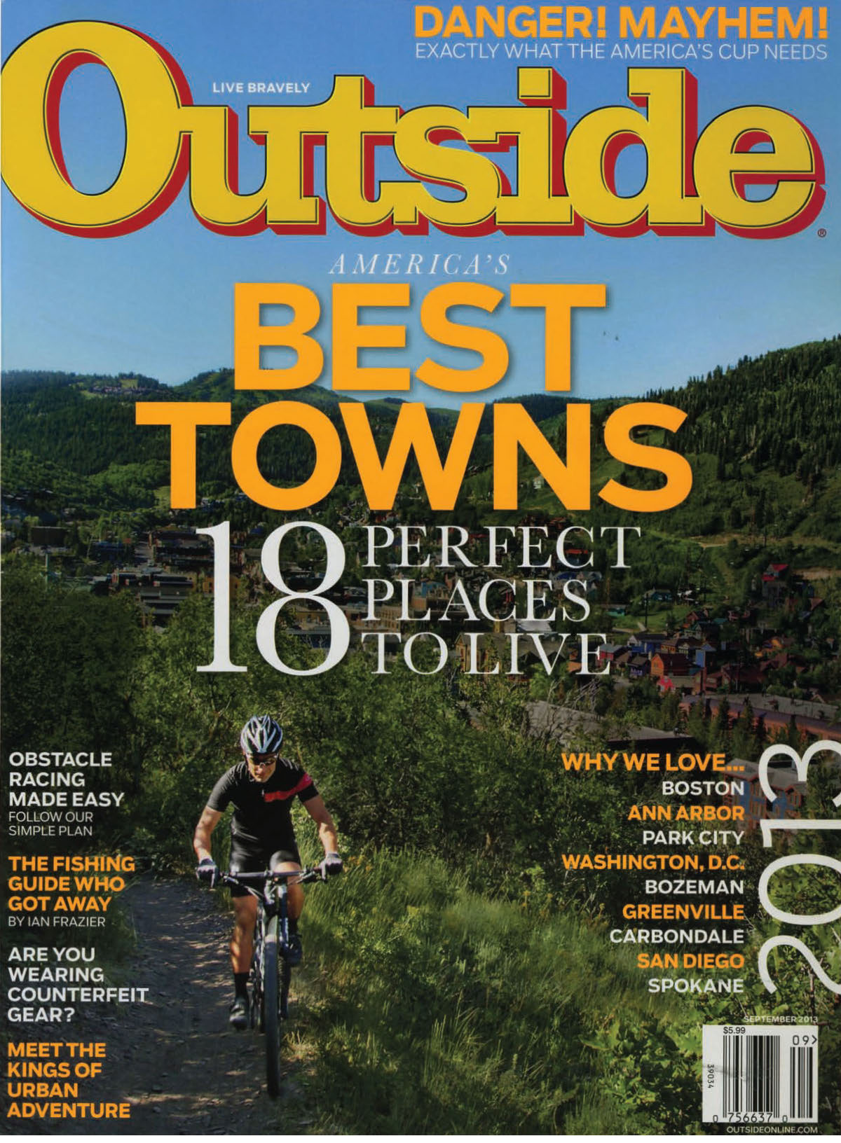 Outside Magazine ranks Park City as Best Town Ever! | Summit