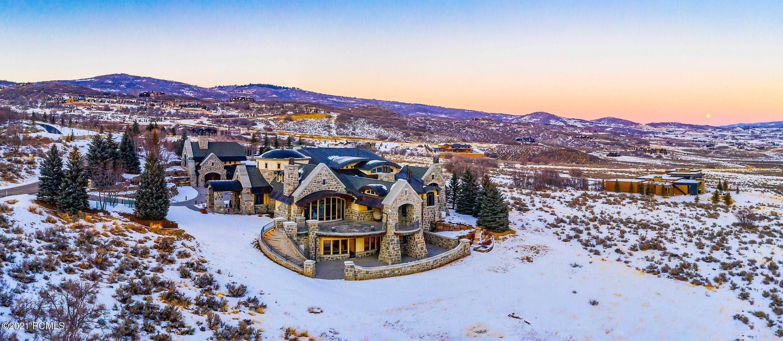 Single Family Homes pour l Vente à 8066 Red Fox Court Park City, Utah 84098 États-Unis