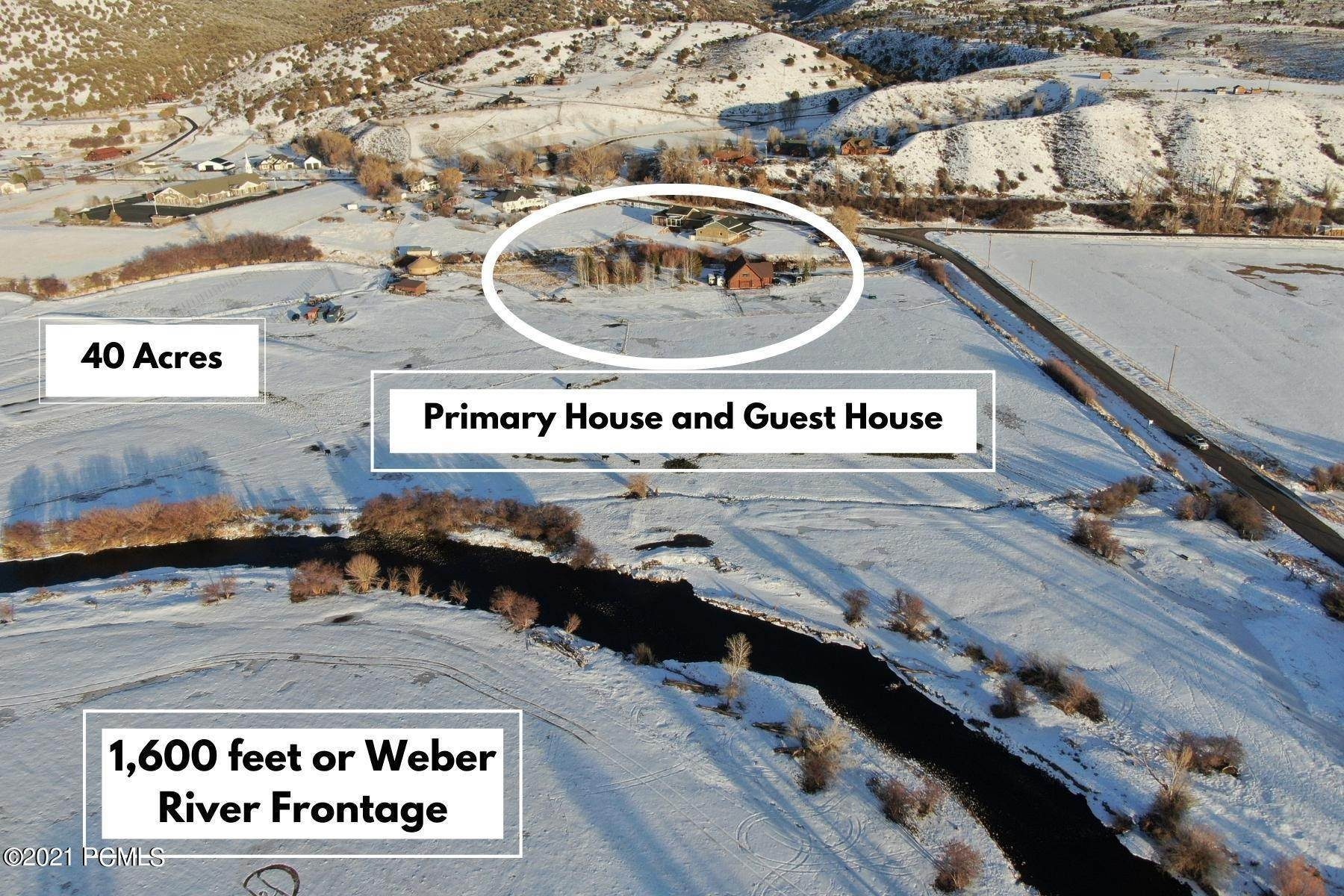 Single Family Homes for Sale at 30661 Old Lincoln Highway Wanship, Utah 84017 United States