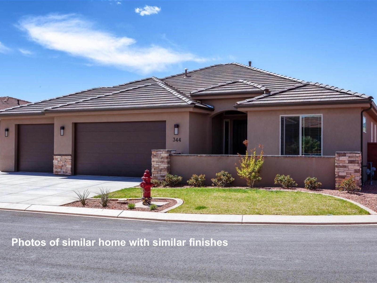 Single Family Homes para Venda às Lot 65 Lantana Way Ivins, Utah 84738 Estados Unidos