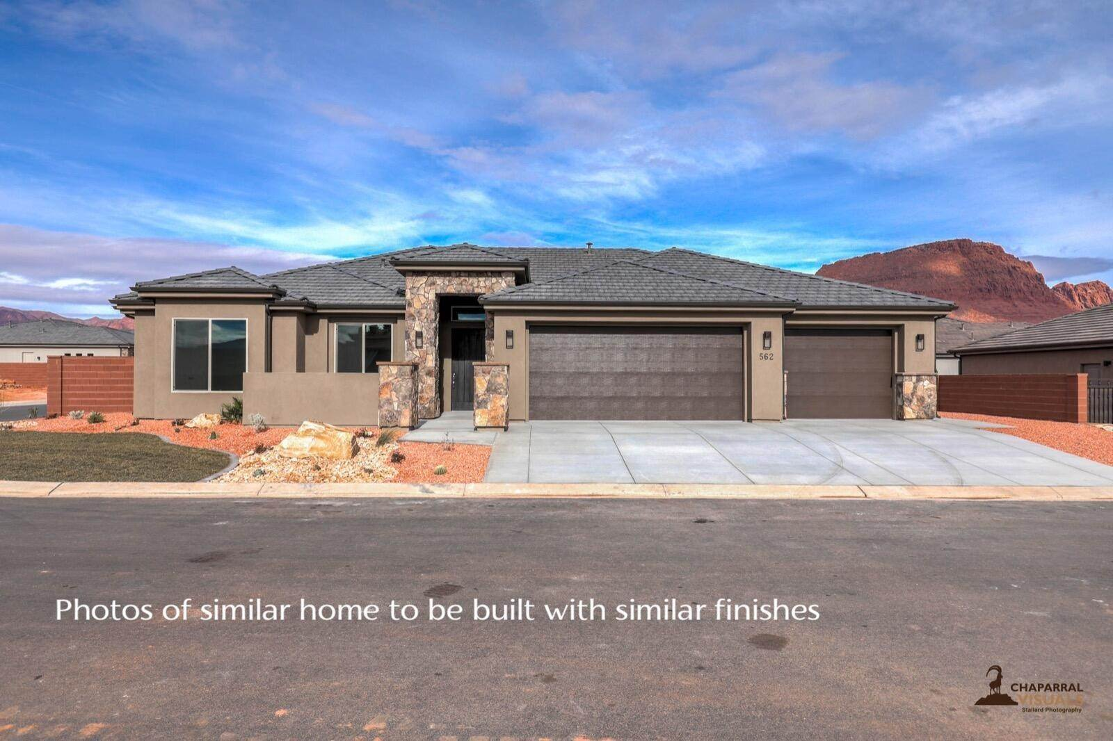 Single Family Homes para Venda às 539 Fitness Way Ivins, Utah 84738 Estados Unidos