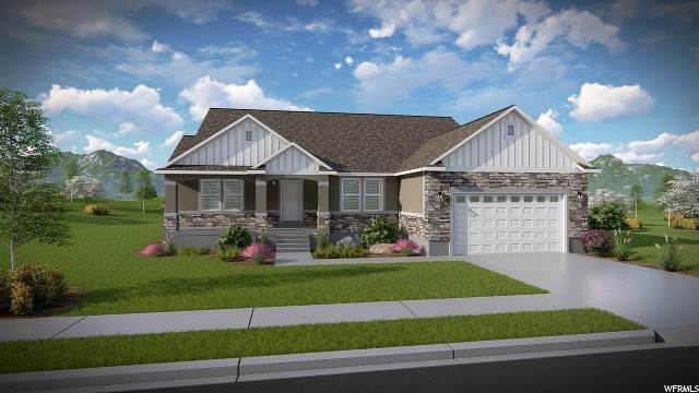 Single Family Homes pour l Vente à 4846 PAINTER PEAK Drive Eagle Mountain, Utah 84005 États-Unis
