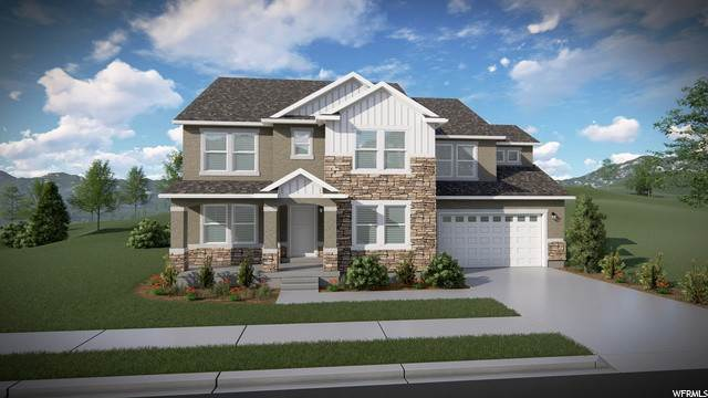 Single Family Homes pour l Vente à 206 TRAIL RIDER PEAK Drive Eagle Mountain, Utah 84005 États-Unis