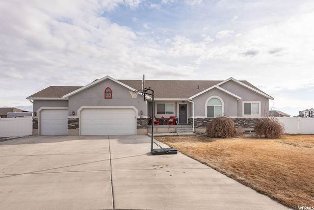 Single Family Homes for Sale at 808 SADDLE RANCH Circle Grantsville, Utah 84029 United States