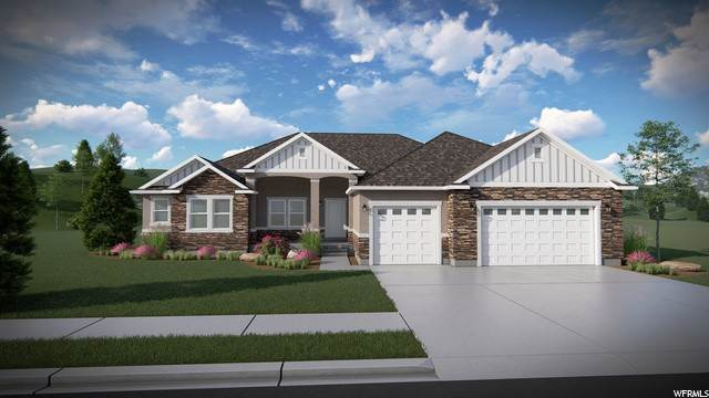 Single Family Homes pour l Vente à 183 GILBERT PEAK WAY Eagle Mountain, Utah 84005 États-Unis