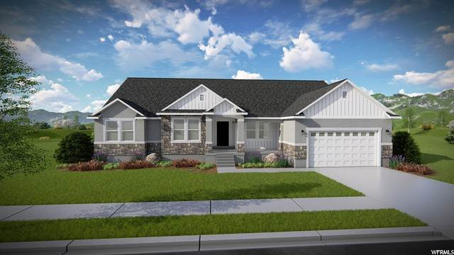 Single Family Homes pour l Vente à 207 GILBERT PEAK WAY Eagle Mountain, Utah 84005 États-Unis