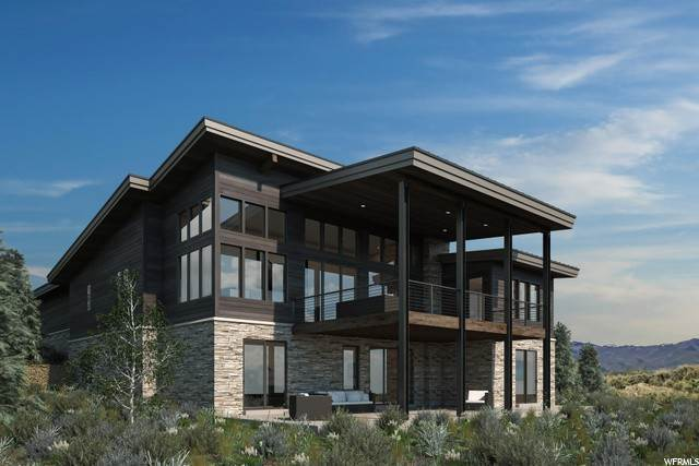 Single Family Homes for Sale at 7152 PAINTED VALLEY PASS Park City, Utah 84098 United States