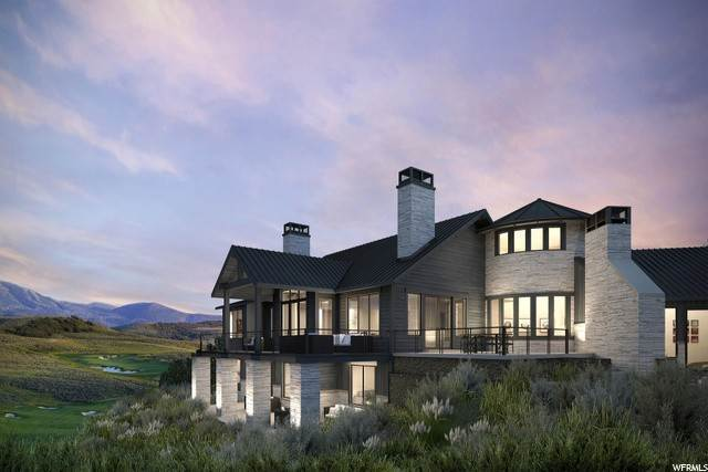 Single Family Homes for Sale at 6368 PAINTED VALLEY PASS Park City, Utah 84098 United States