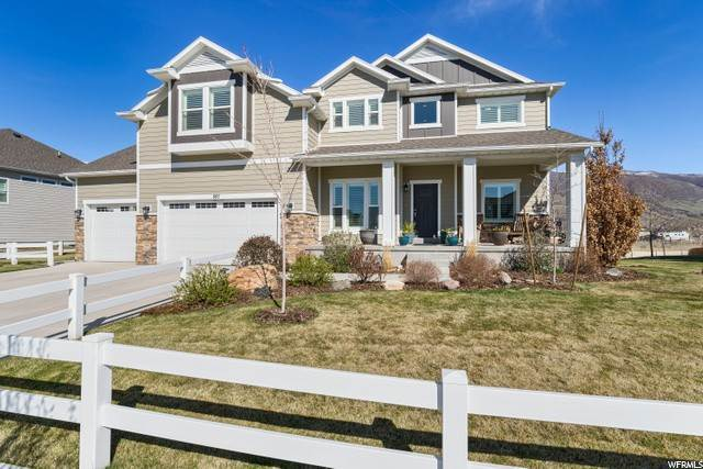 Single Family Homes por un Venta en 897 SNOWBERRY Lane Farmington, Utah 84025 Estados Unidos
