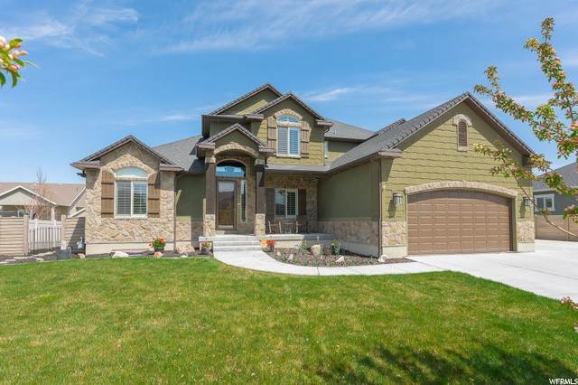 Single Family Homes para Venda às 76 STREAMS EDGE WAY Stansbury Park, Utah 84074 Estados Unidos