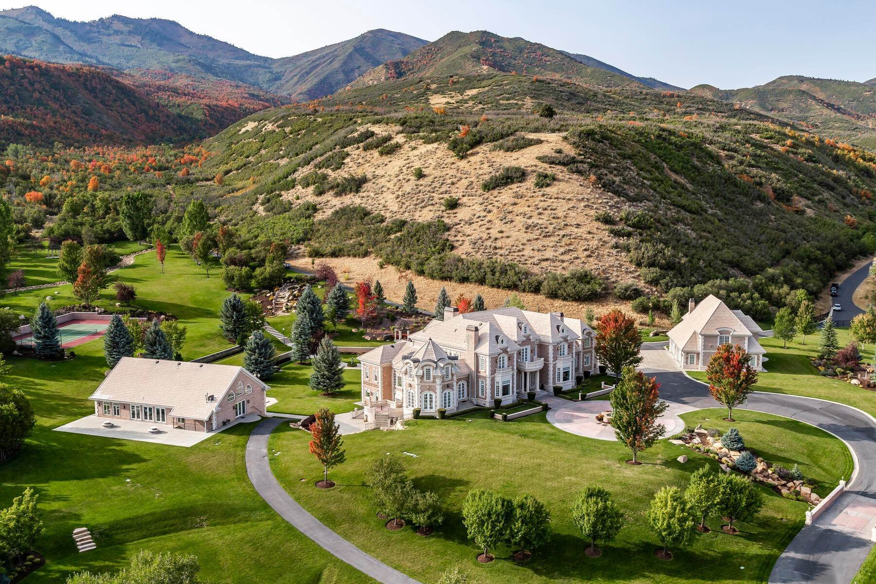 2. Farm and Ranch Properties à 533 N Left Fork Hobble Creek Cyn Springville, Utah 84663 États-Unis