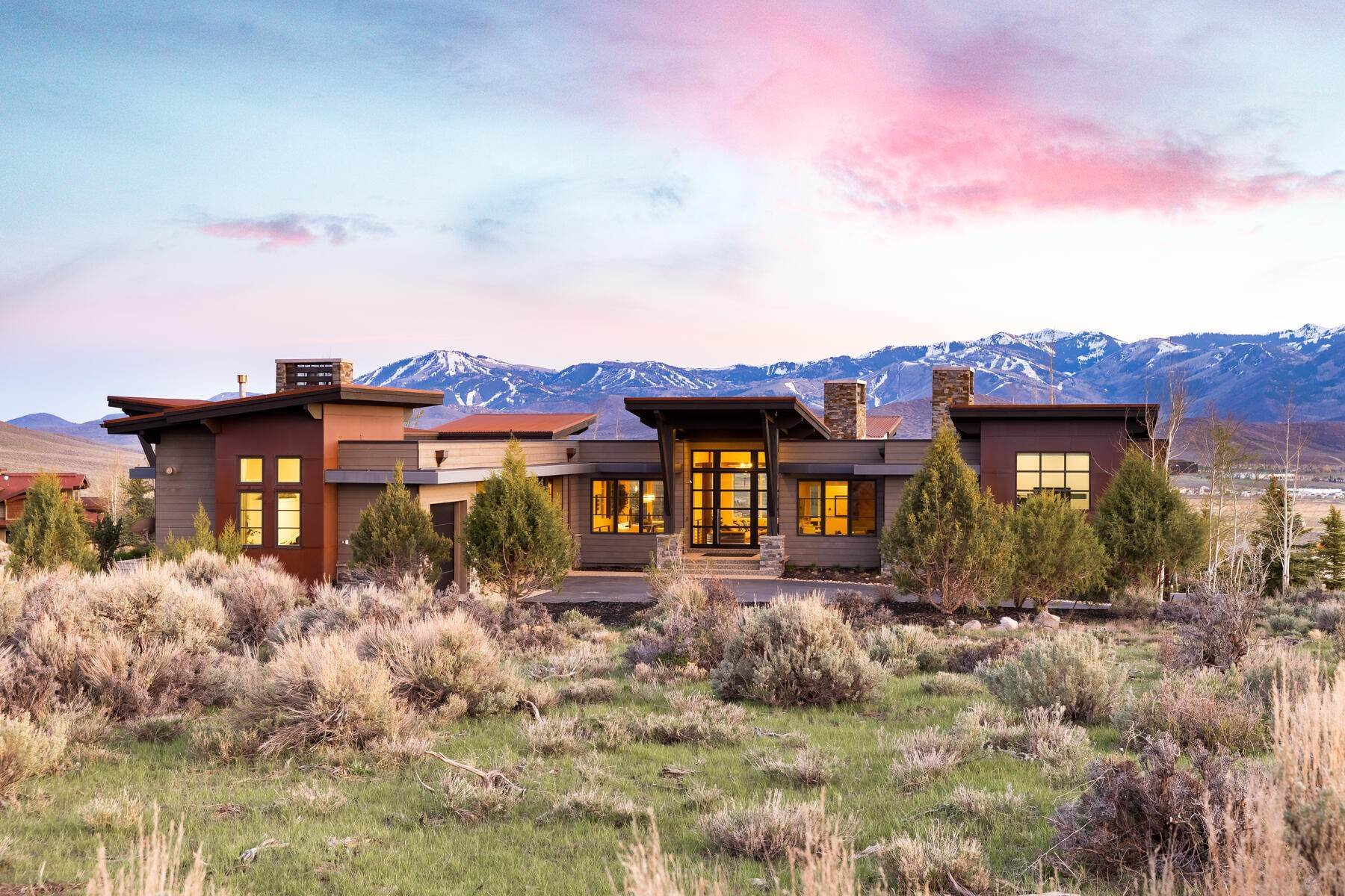 Single Family Homes for Sale at Promontory Mountain Contemporary Masterpiece 7670 N West Hills Trail Park City, Utah 84098 United States