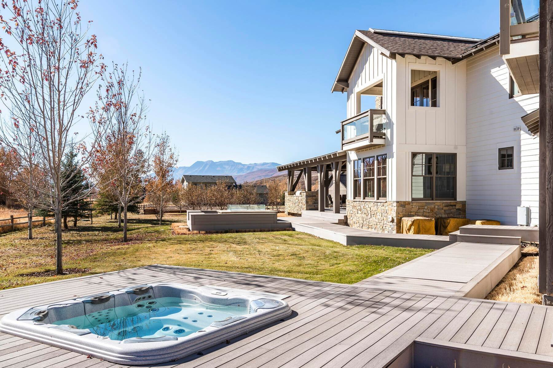 49. Single Family Homes for Sale at Picture-Perfect Contemporary Rustic Elegance on the Provo River 2370 N River Meadows Parkway Midway, Utah 84049 United States