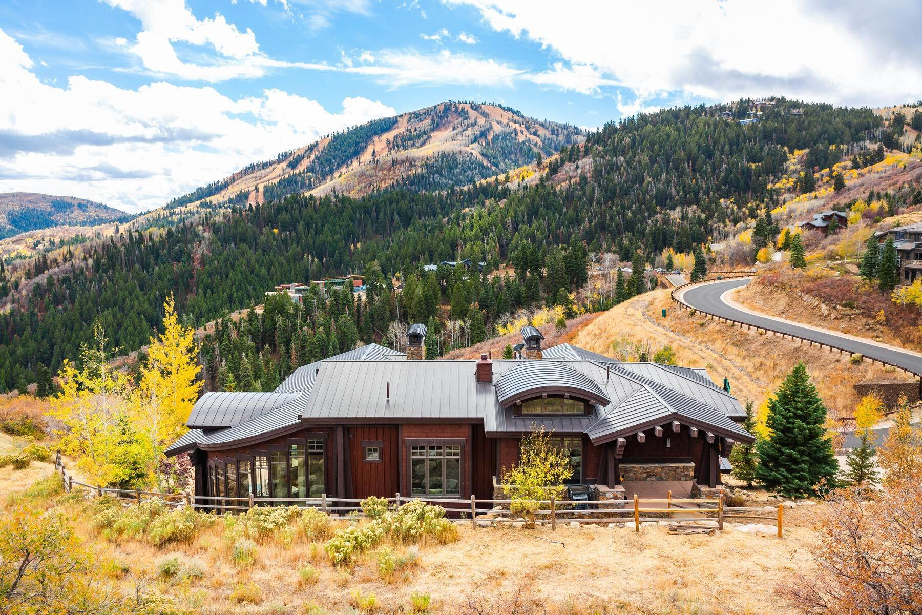Single Family Homes for Sale at Deer Crest Ski-In/Ski-Out Masterpiece with Mountain Views 10153 N Summit View Drive Park City, Utah 84060 United States