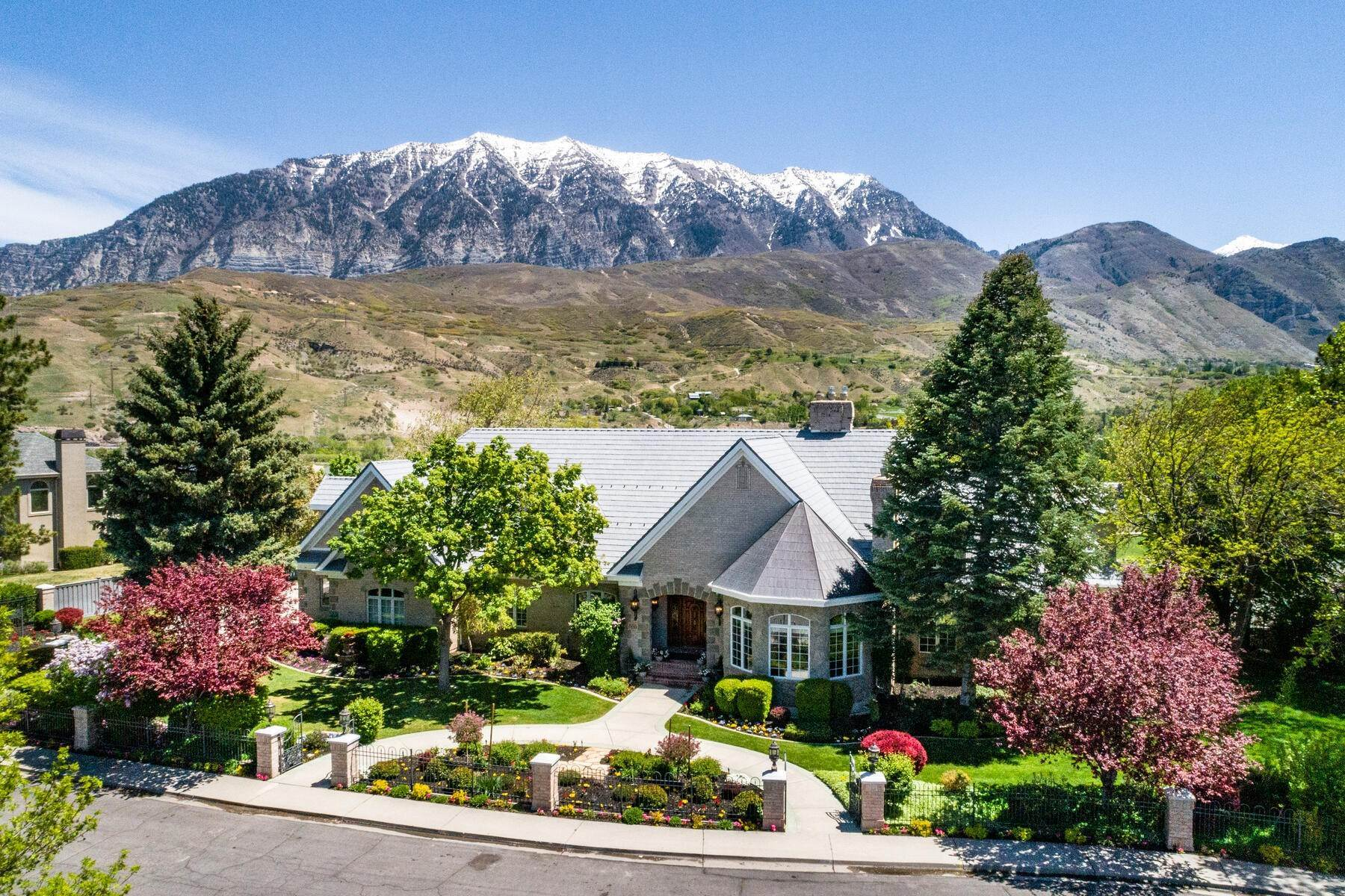 Single Family Homes for Sale at Updated home near Provo Canyon 566 N Bella Vista Drive Orem, Utah 84097 United States