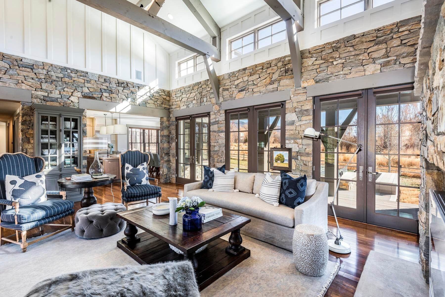 6. Single Family Homes for Sale at Picture-Perfect Contemporary Rustic Elegance on the Provo River 2370 N River Meadows Parkway Midway, Utah 84049 United States