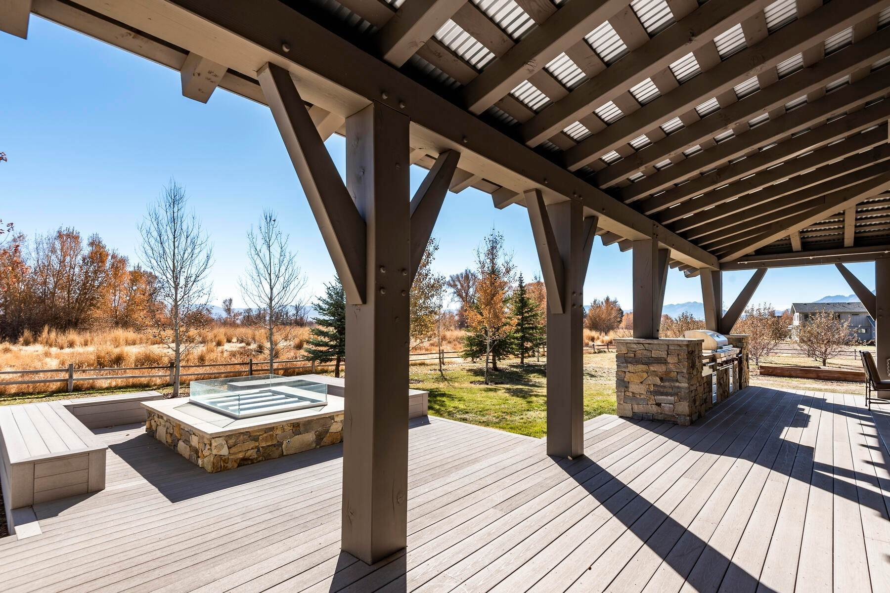 46. Single Family Homes for Sale at Picture-Perfect Contemporary Rustic Elegance on the Provo River 2370 N River Meadows Parkway Midway, Utah 84049 United States