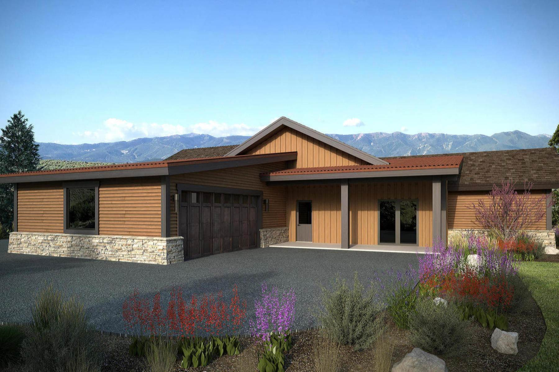 Single Family Homes for Sale at The Gateway Rambler At High Star Ranch With Spectacular Views 366 Big Meadow Drive Kamas, Utah 84036 United States