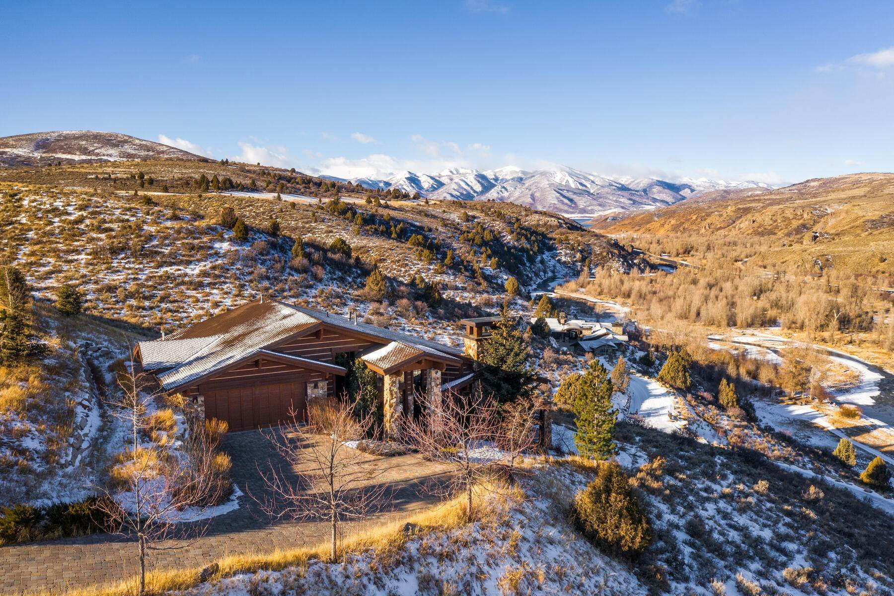 Single Family Homes for Sale at Iconic Victory Ranch Home With Stunning River Views 7409 N Caddis Dr Heber City, Utah 84032 United States