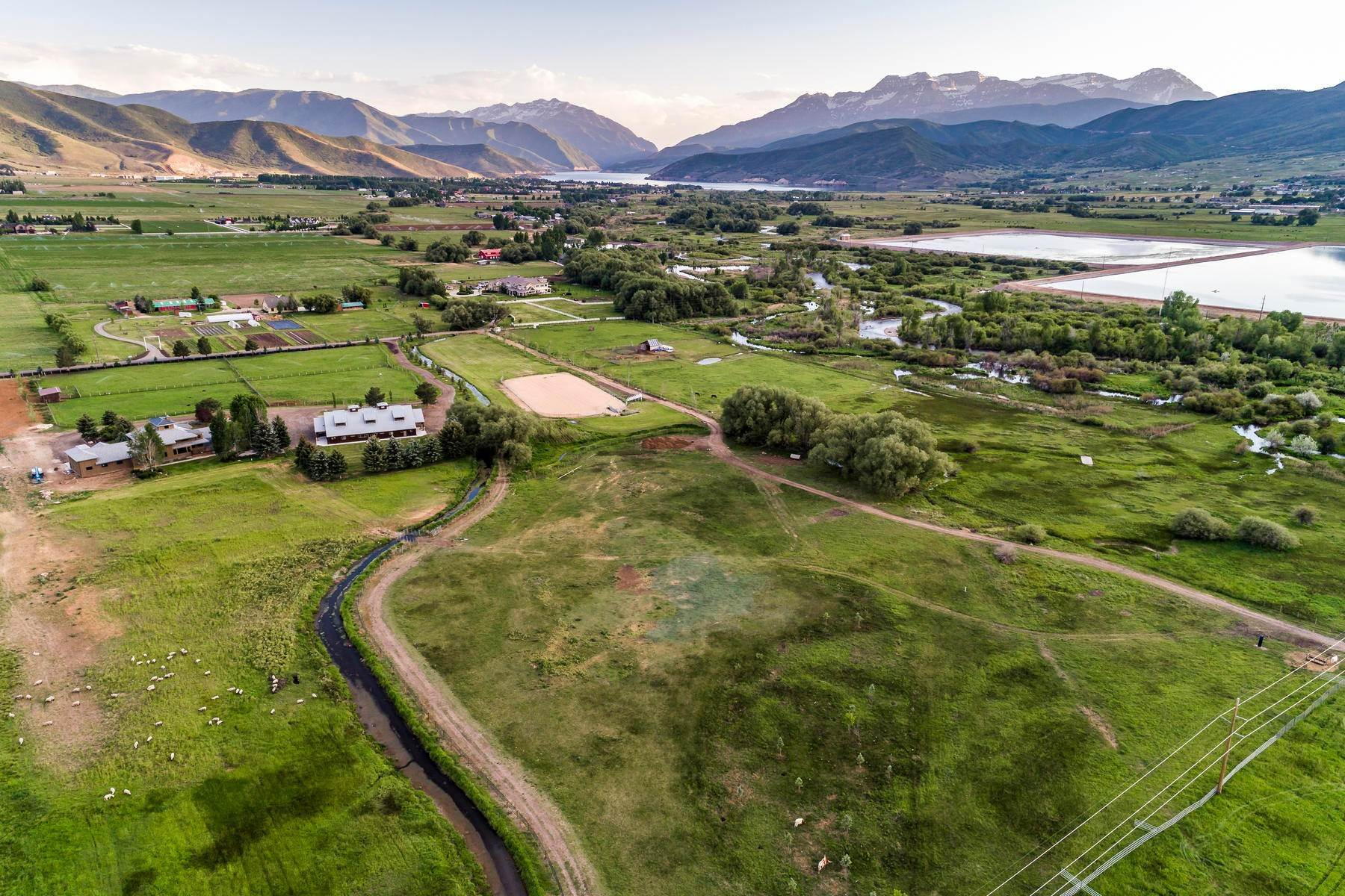 Terreno per Vendita alle ore Beautiful 7.68 Acre Lot Near The Provo River 1500 W Midway Ln, #9 Heber, Utah 84032 Stati Uniti