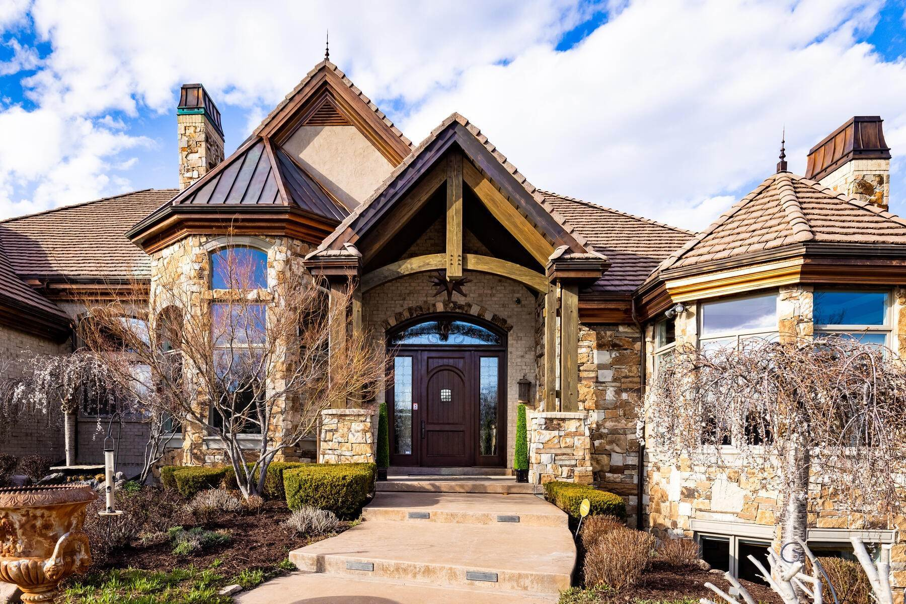 Single Family Homes for Sale at Beautiful Riverfront Estate 1937 E Siesta Dr Sandy, Utah 84093 United States