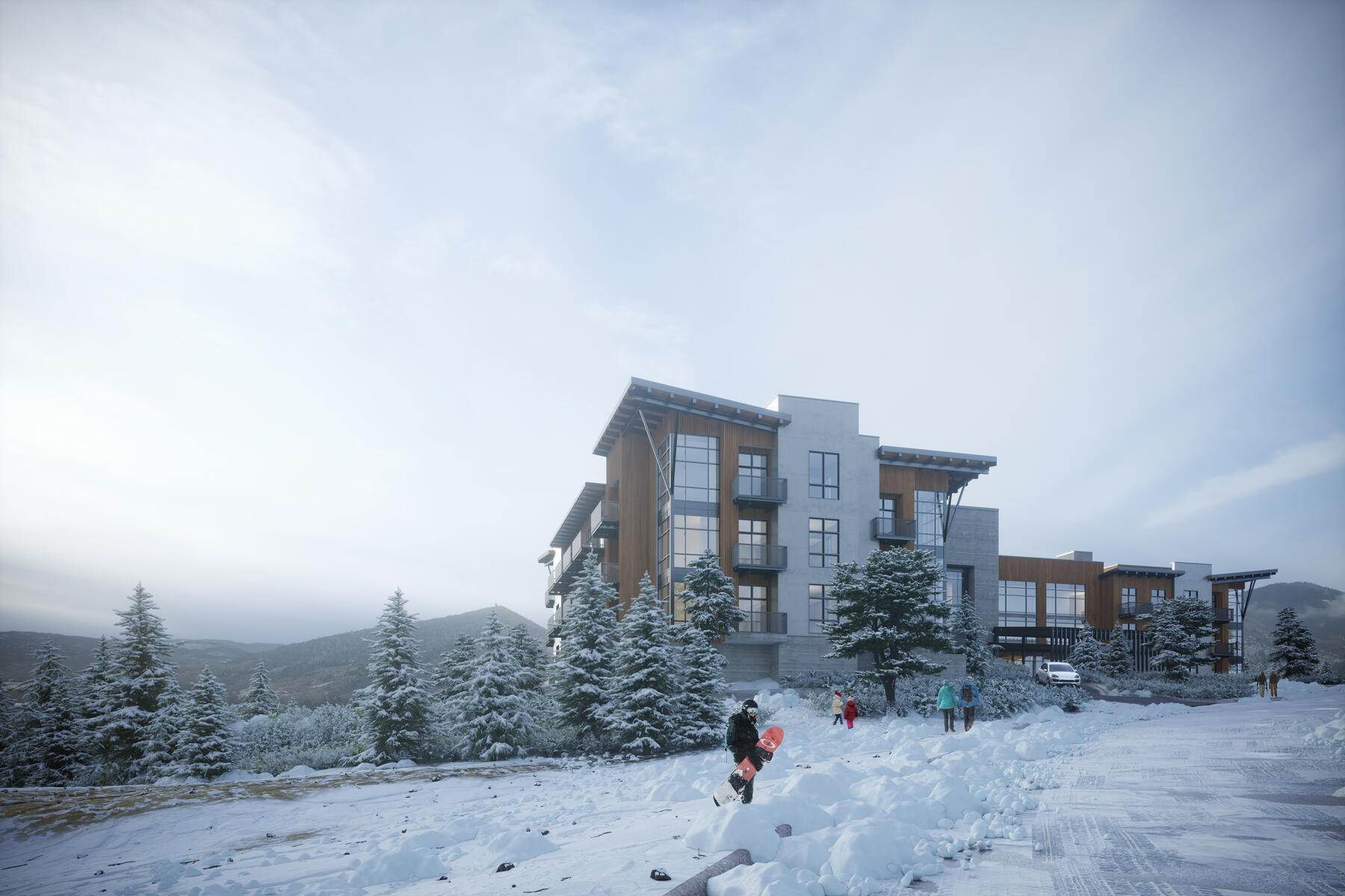 7. Condominiums for Sale at Introducing Park City's Newest Boutique Ski Hotel, The Ascent Park City! 4080 N Cooper Lane #232 Park City, Utah 84098 United States