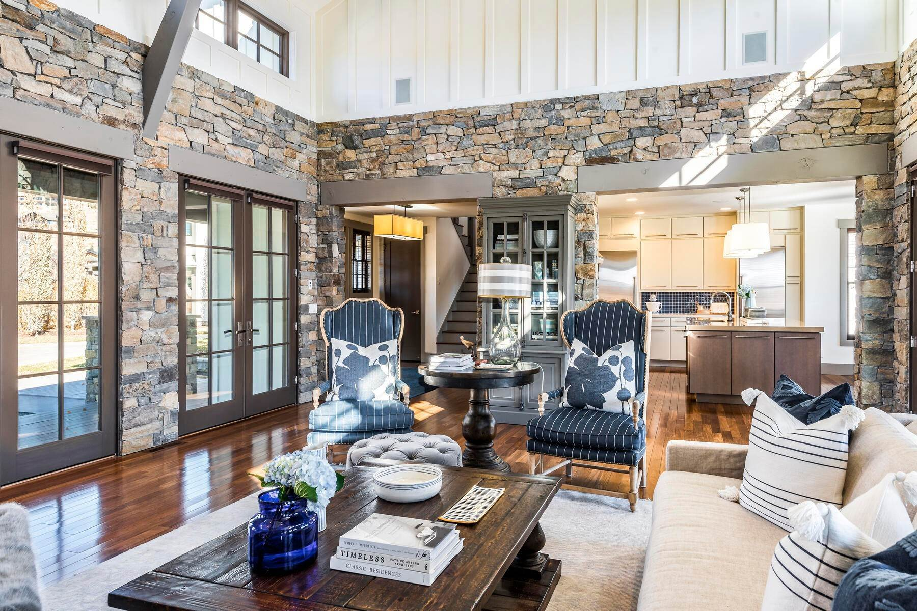 7. Single Family Homes for Sale at Picture-Perfect Contemporary Rustic Elegance on the Provo River 2370 N River Meadows Parkway Midway, Utah 84049 United States