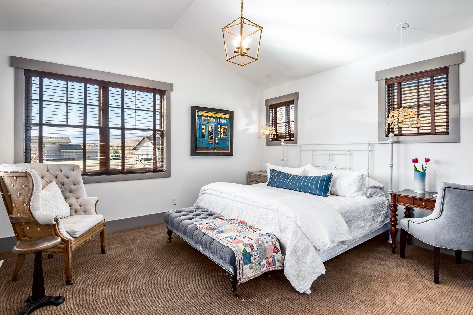 45. Single Family Homes for Sale at Picture-Perfect Contemporary Rustic Elegance on the Provo River 2370 N River Meadows Parkway Midway, Utah 84049 United States