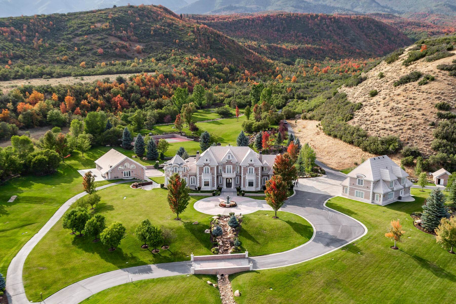 1. Farm and Ranch Properties à 533 N Left Fork Hobble Creek Cyn Springville, Utah 84663 États-Unis