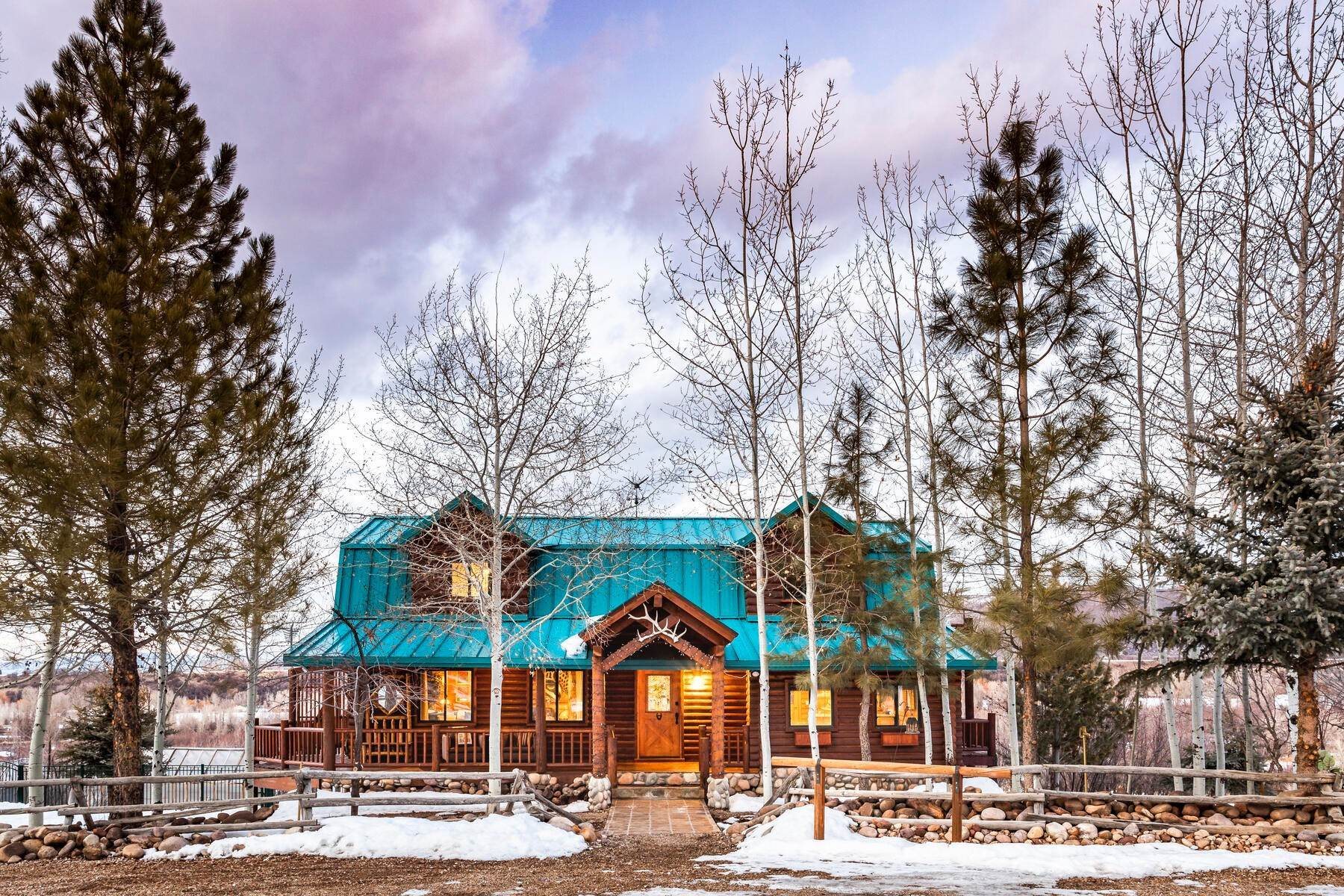 Single Family Homes for Sale at Artistically Reimagined 4 BR Cabin on 5 Equestrian Acres Overlooking Provo River 3941 S River View Drive Kamas, Utah 84036 United States