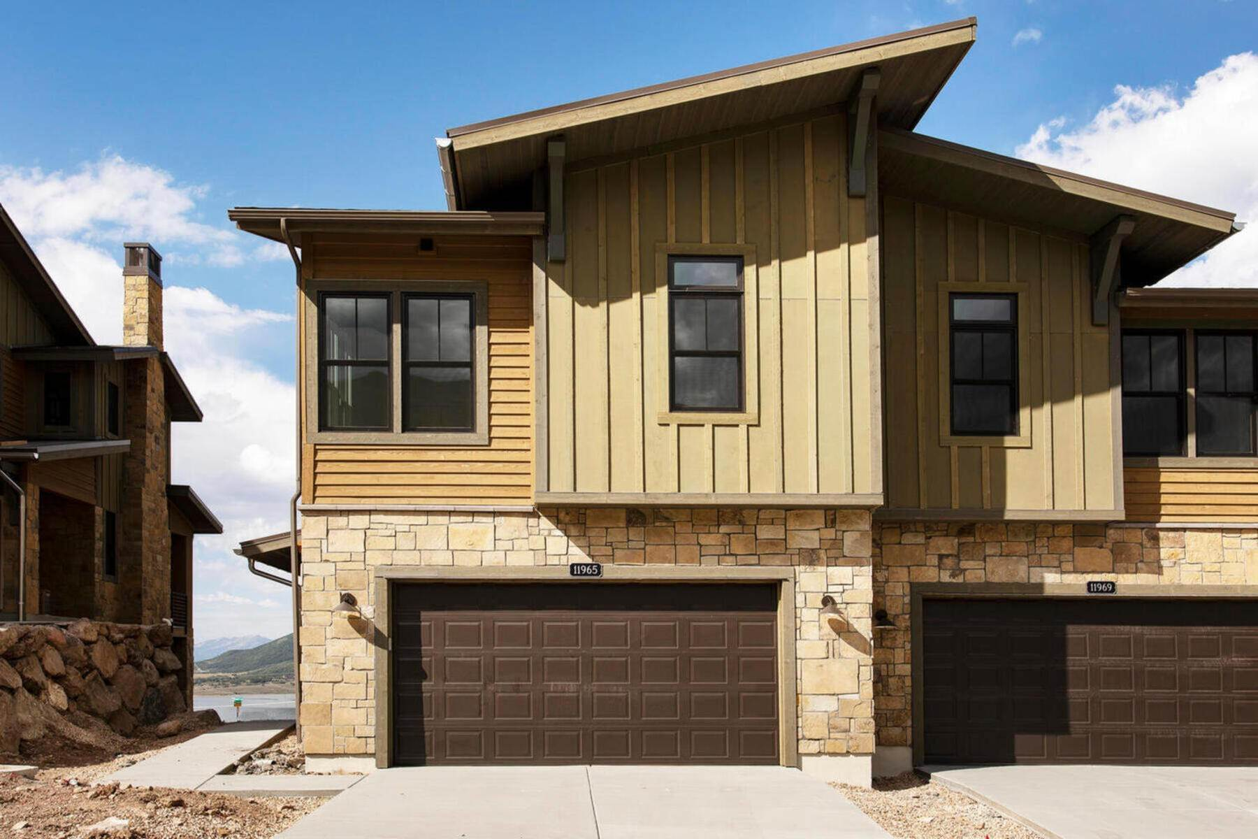townhouses for Sale at New Lakefront Community with Views of Deer Valley Resort & Jordanelle Reservoir Lot #6 (Phase II) at Deer Waters Hideout Canyon, Utah 84036 United States