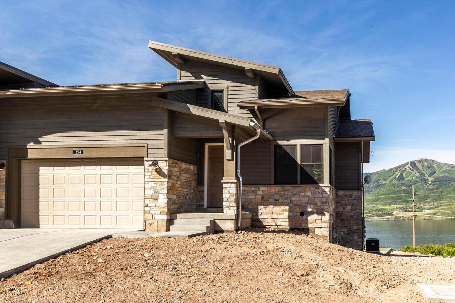 townhouses for Sale at New Lakefront Community with Views of Deer Valley Resort & Jordanelle Reservoir 402 E Overlook Loop, Lot #13 Hideout Canyon, Utah 84036 United States