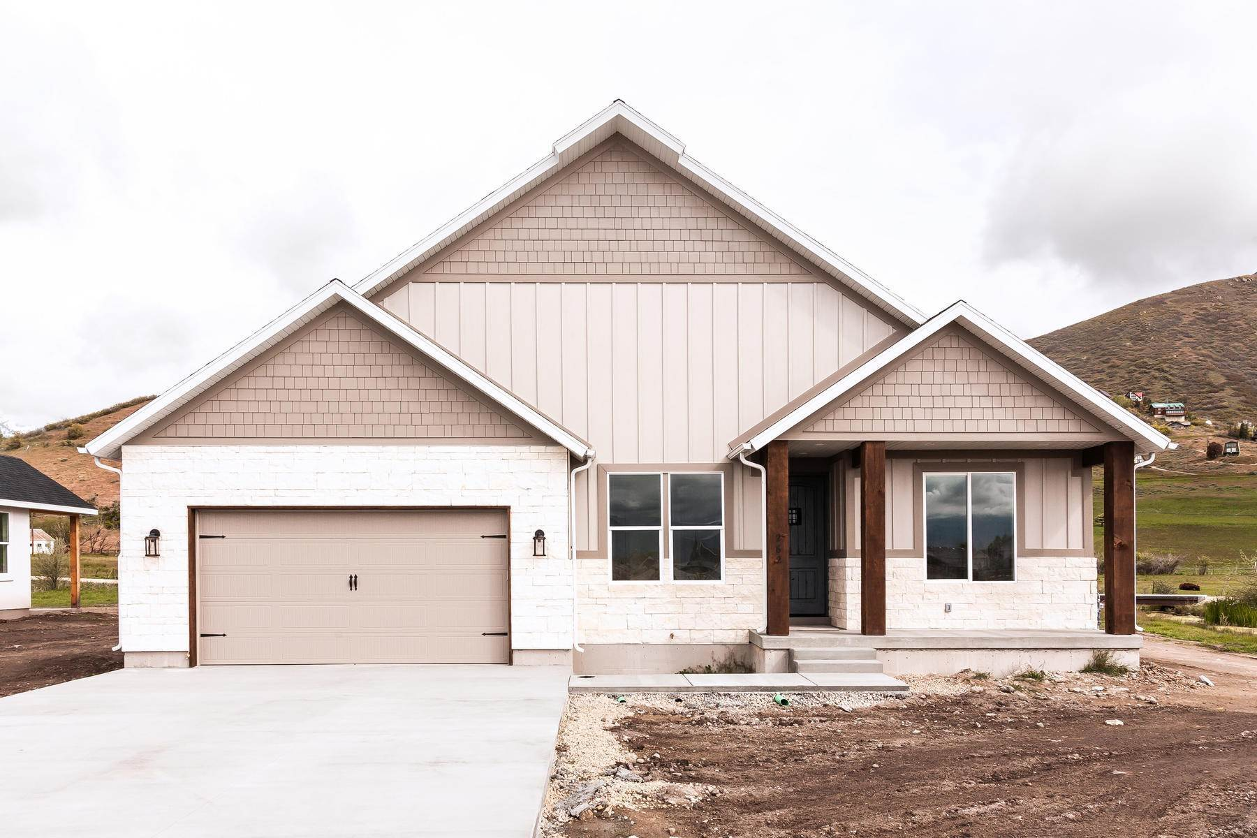 Single Family Homes for Sale at New Construction in Beautiful Midway 1368 N Jerry Gertsch Lane Midway, Utah 84049 United States