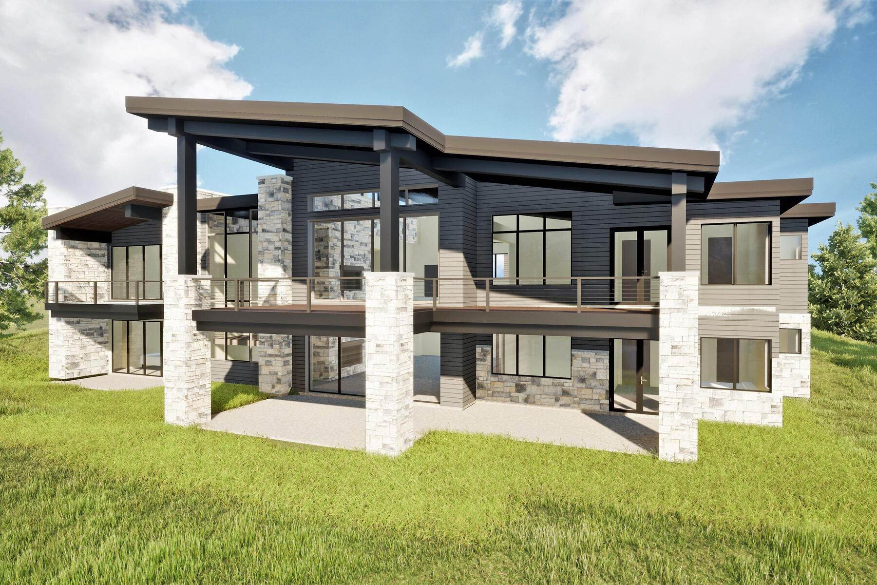 Single Family Homes for Sale at Breathtaking Home with Outstanding Lake Views 3795 E Rockport Ridge Road Park City, Utah 84098 United States