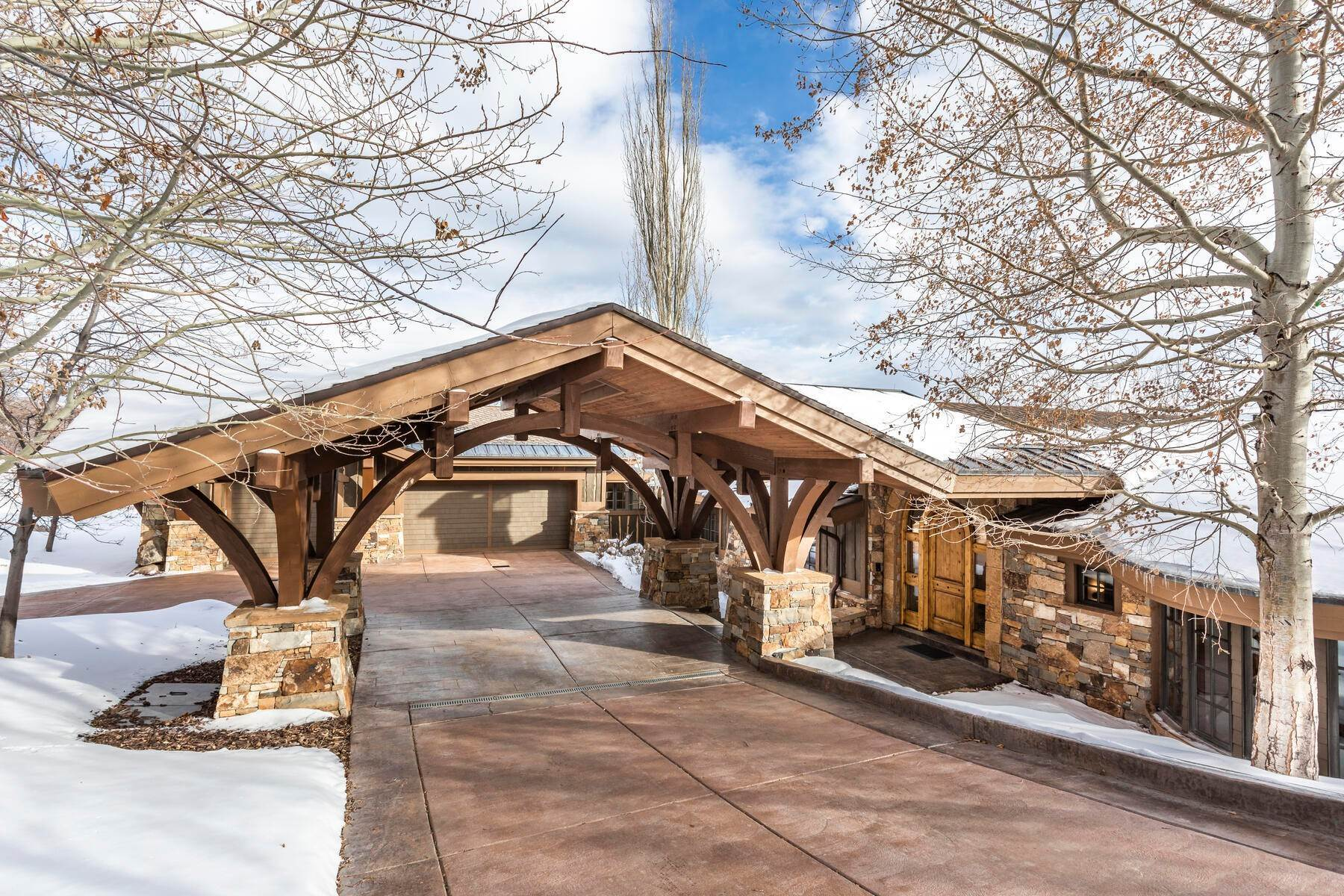 Single Family Homes for Sale at Sophisticated Masterpiece in Promontory 8340 N Promontory Ranch Rd Park City, Utah 84098 United States