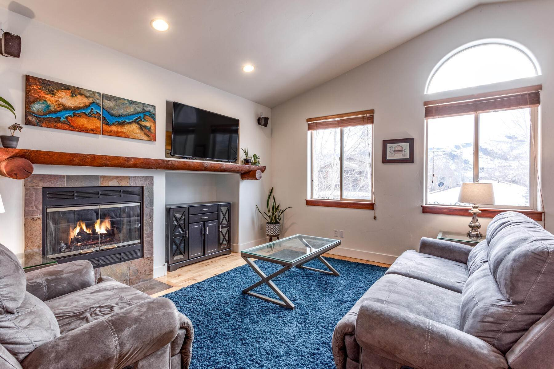Single Family Homes for Sale at Ski Run Views from One of Park City's Best Locations 1110 Station Loop Rd Park City, Utah 84098 United States