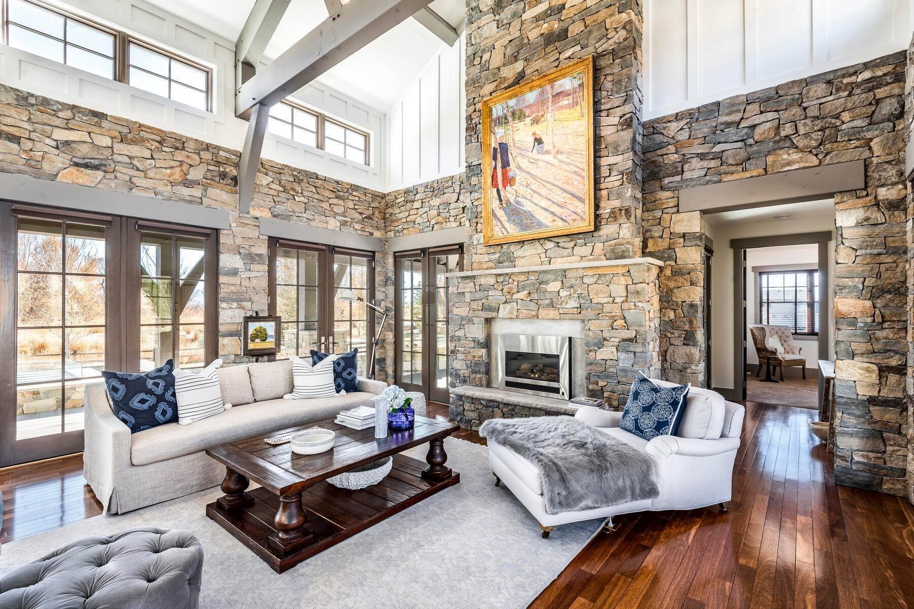 4. Single Family Homes for Sale at Picture-Perfect Contemporary Rustic Elegance on the Provo River 2370 N River Meadows Parkway Midway, Utah 84049 United States