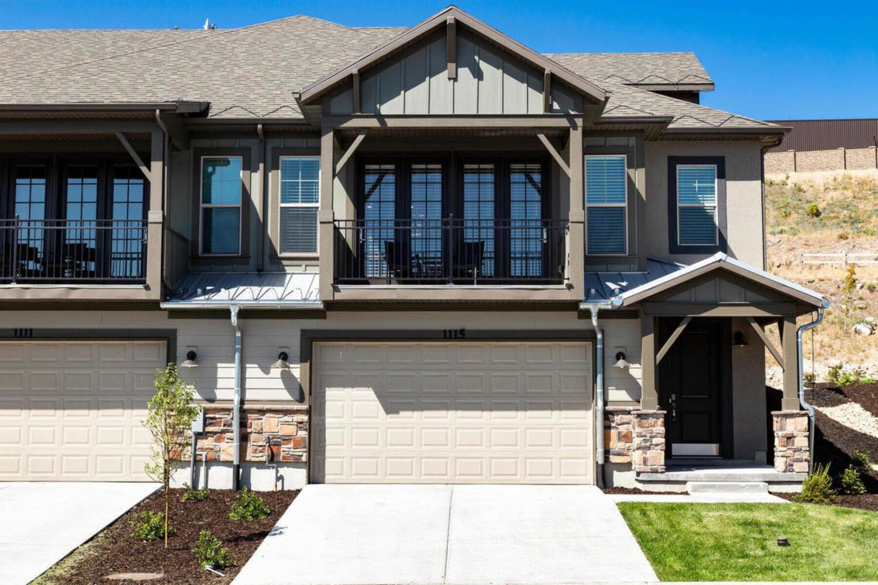 townhouses for Sale at Brand New Beautiful Townhome Just 6 Minutes to Historic Park City 1043 W Wasatch Springs Rd #P5 Heber, Utah 84032 United States