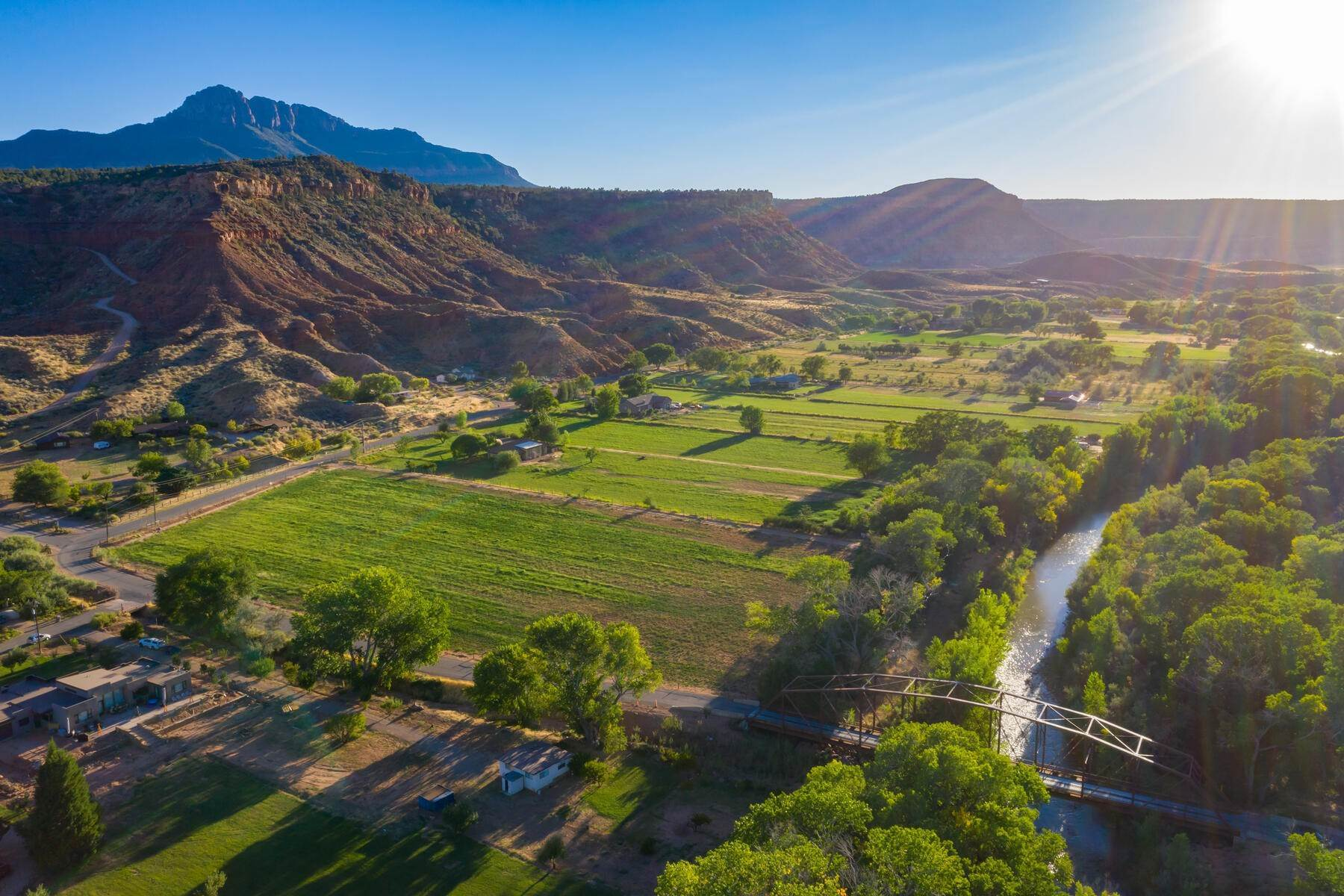 6. Land for Sale at 5+ Ac Field On The River In Rockville 250 So Bridge Road Rockville, Utah 84763 United States