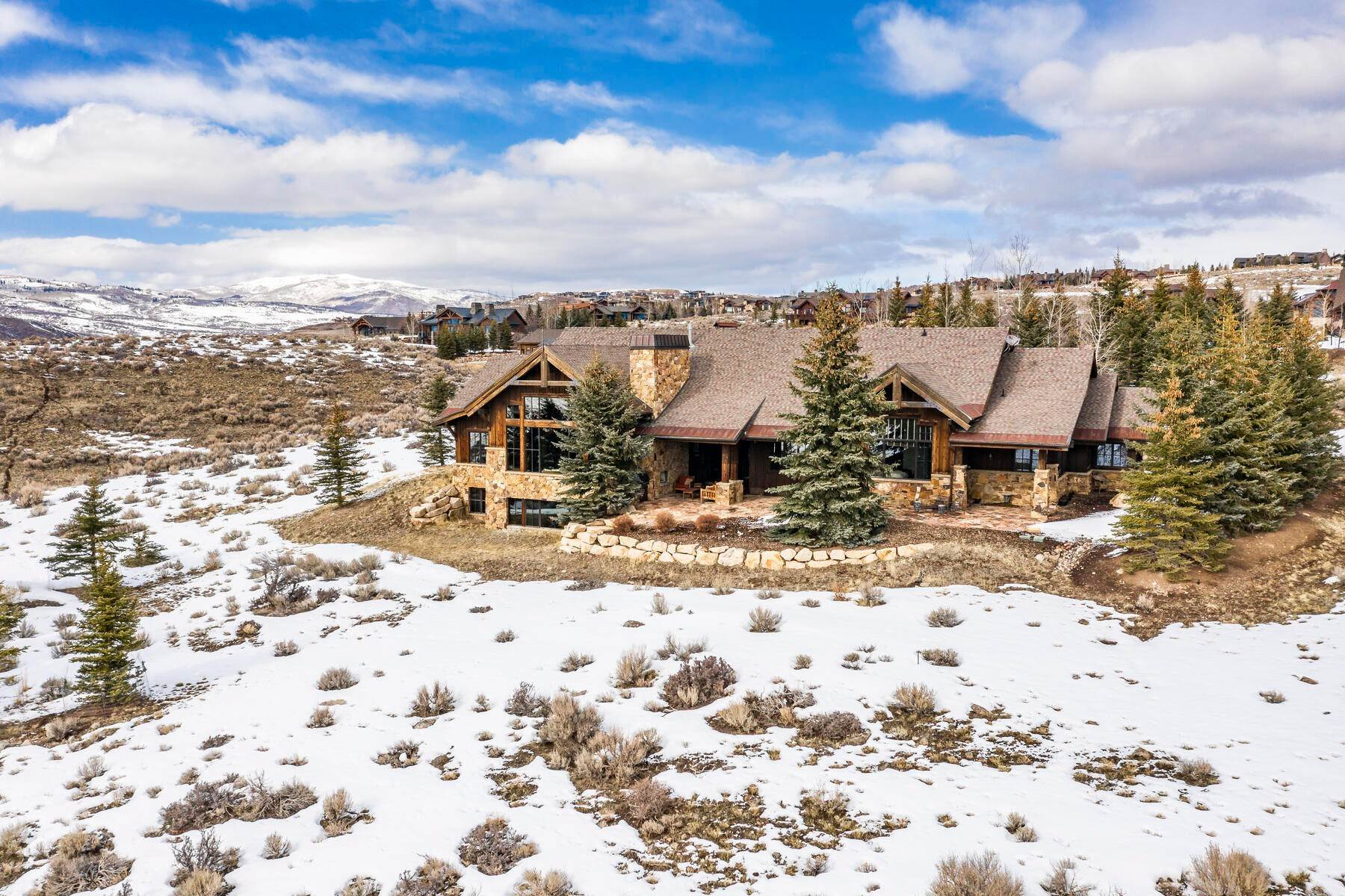 Single Family Homes for Sale at Seclusion, Views, Full Membership Available In Promontory 7701 N West Hills Trail Park City, Utah 84098 United States