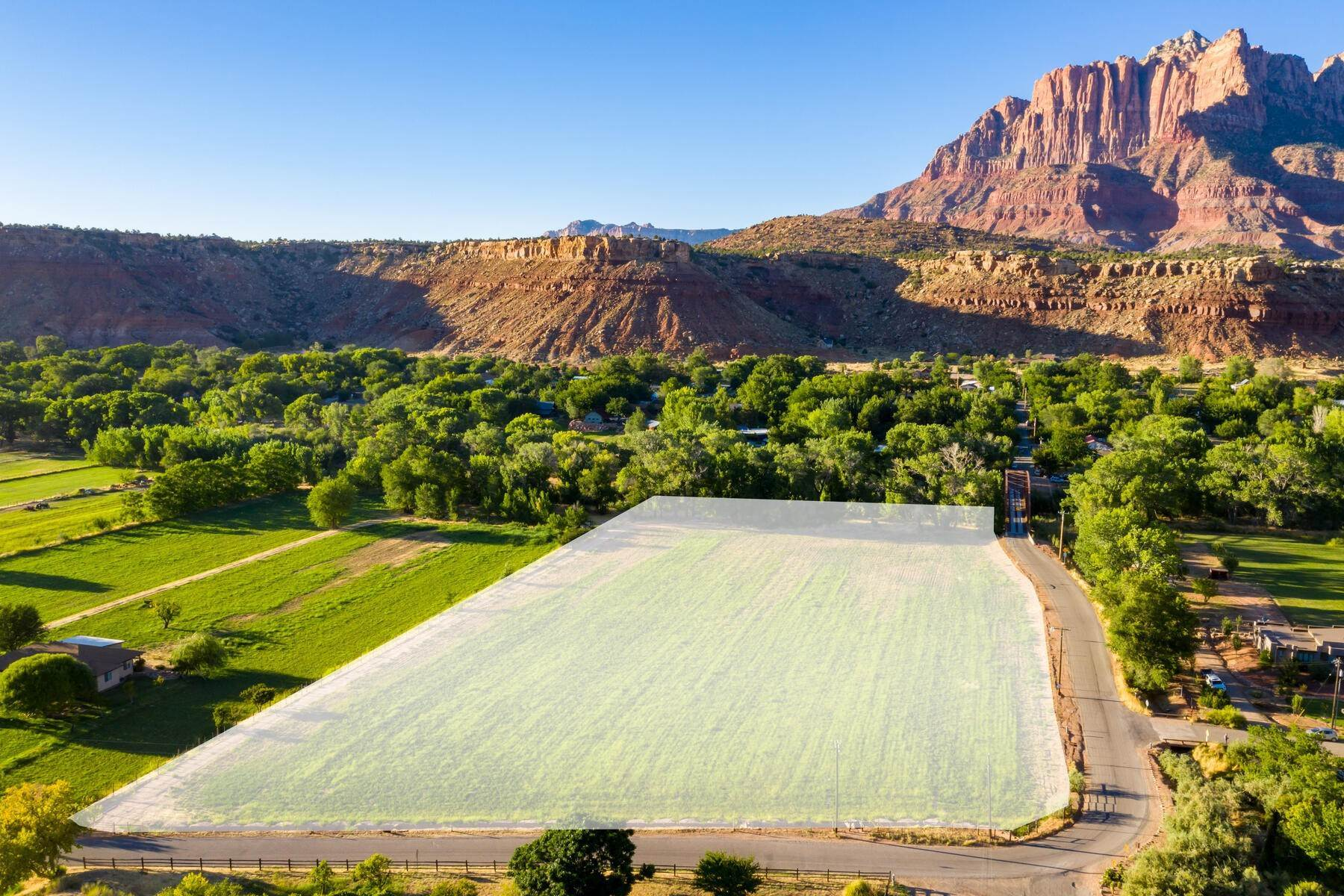 2. Land for Sale at 5+ Ac Field On The River In Rockville 250 So Bridge Road Rockville, Utah 84763 United States