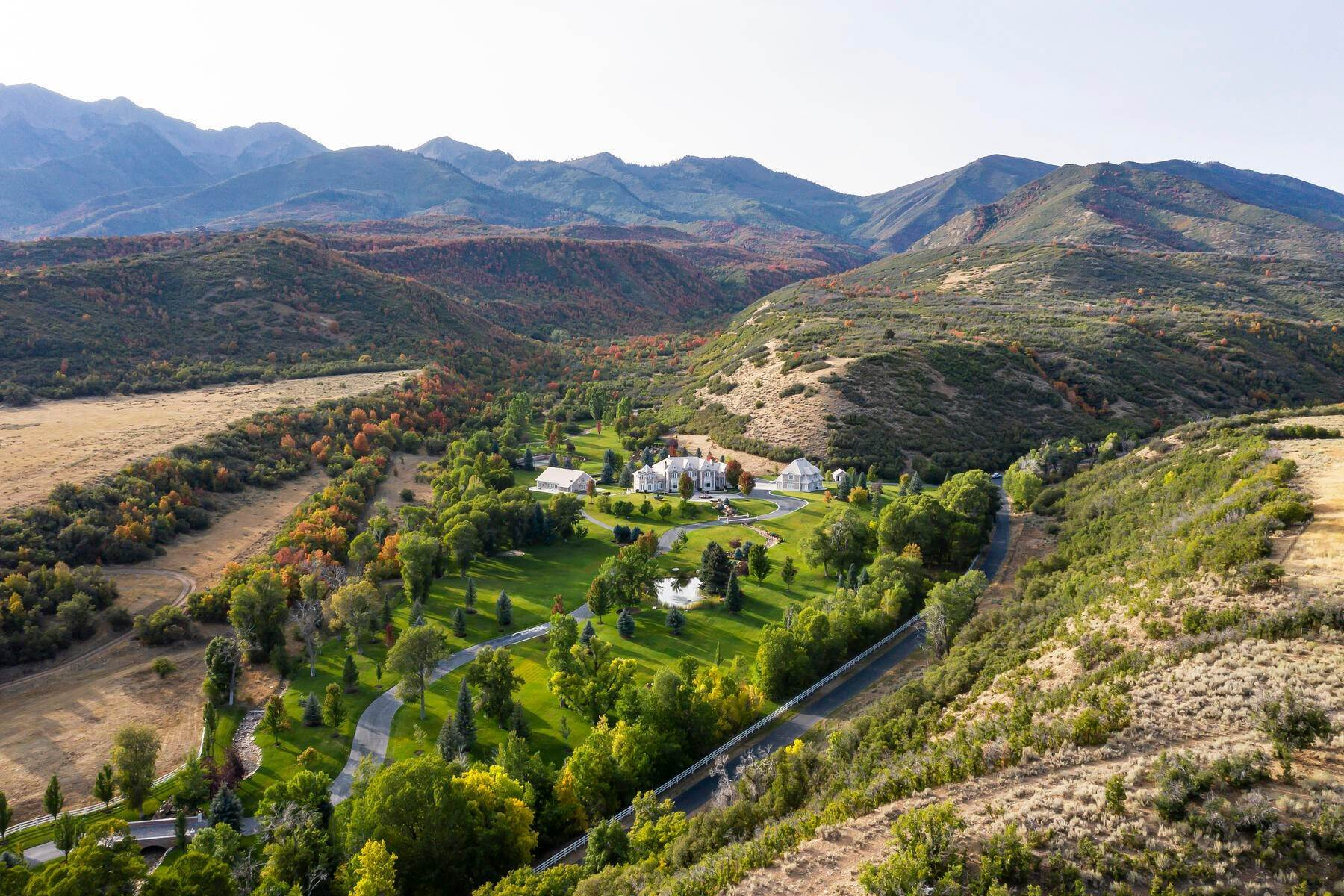 3. Farm and Ranch Properties à 533 N Left Fork Hobble Creek Cyn Springville, Utah 84663 États-Unis