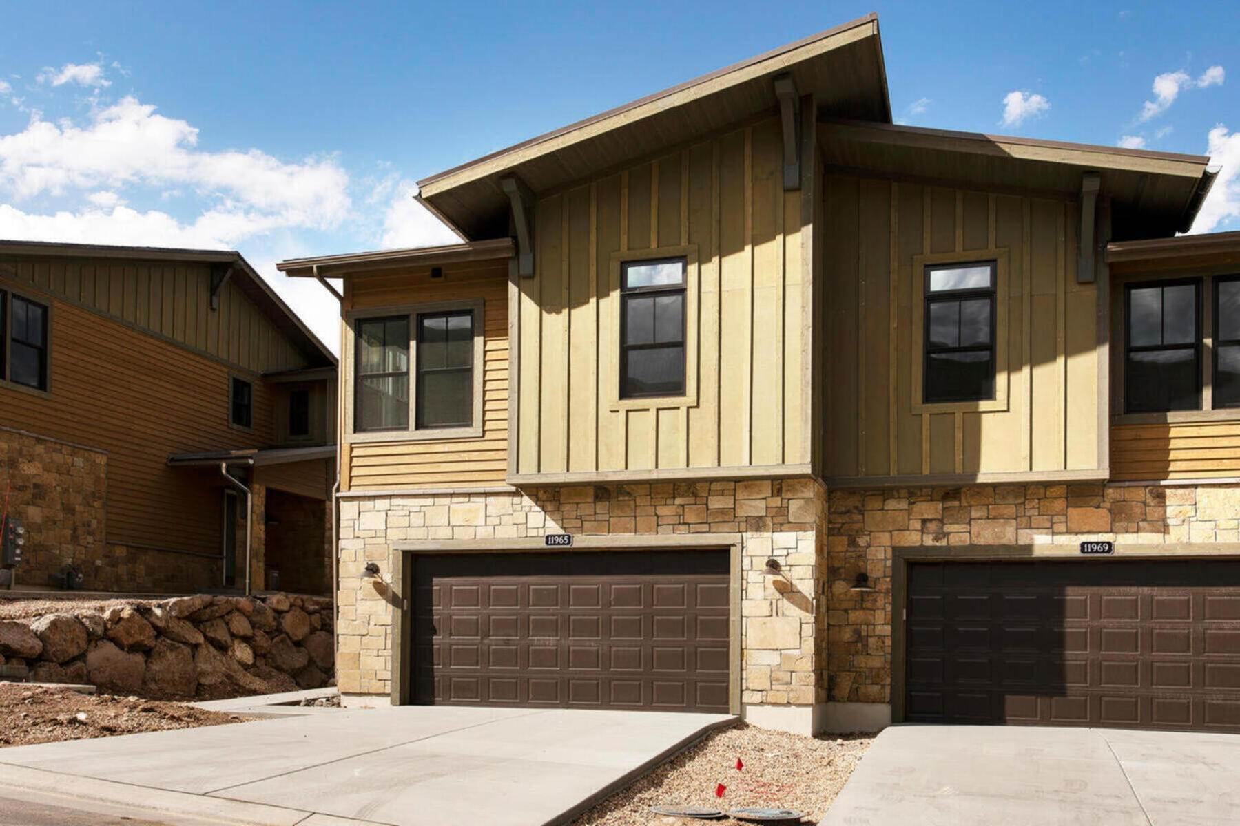 townhouses for Sale at New Lakefront Community with Views of Deer Valley Resort & Jordanelle Reservoir 11853 N Shoreline Drive, Lot #5 Hideout Canyon, Utah 84036 United States