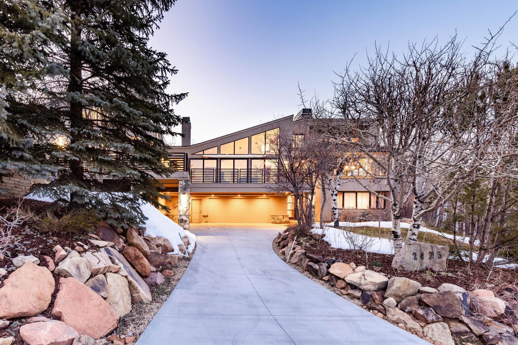 Single Family Homes for Sale at Phenomenal Iron Canyon Home With Stunningly Unobstructed Views 2425 Iron Canyon Dr Park City, Utah 84060 United States