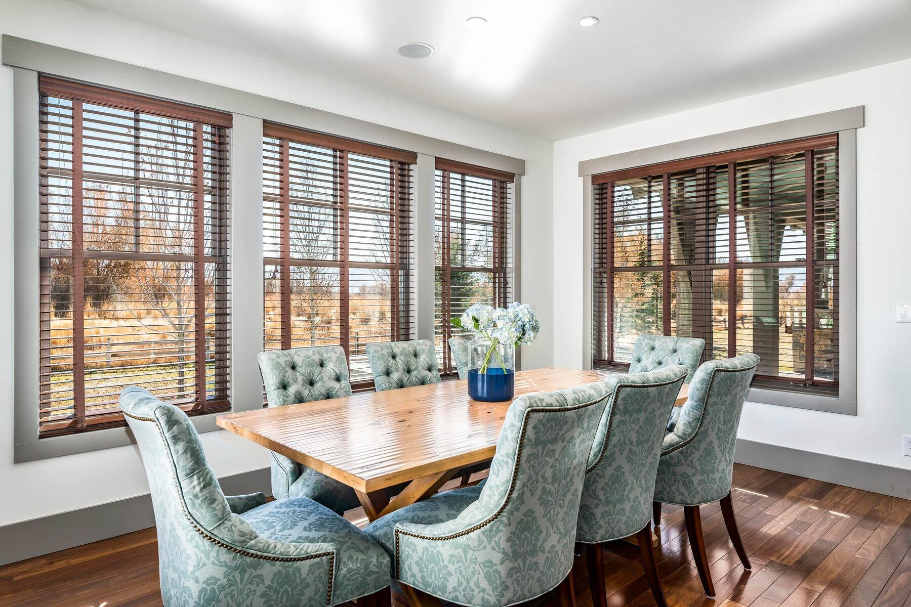 10. Single Family Homes for Sale at Picture-Perfect Contemporary Rustic Elegance on the Provo River 2370 N River Meadows Parkway Midway, Utah 84049 United States
