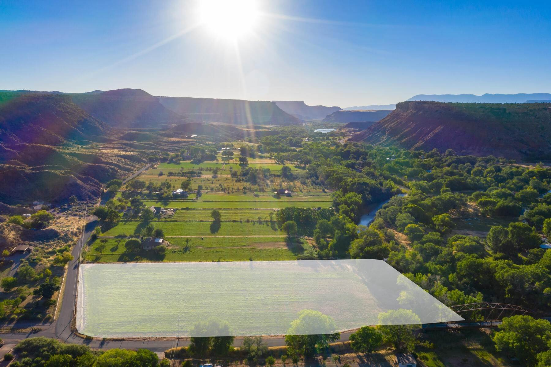 7. Land for Sale at 5+ Ac Field On The River In Rockville 250 So Bridge Road Rockville, Utah 84763 United States