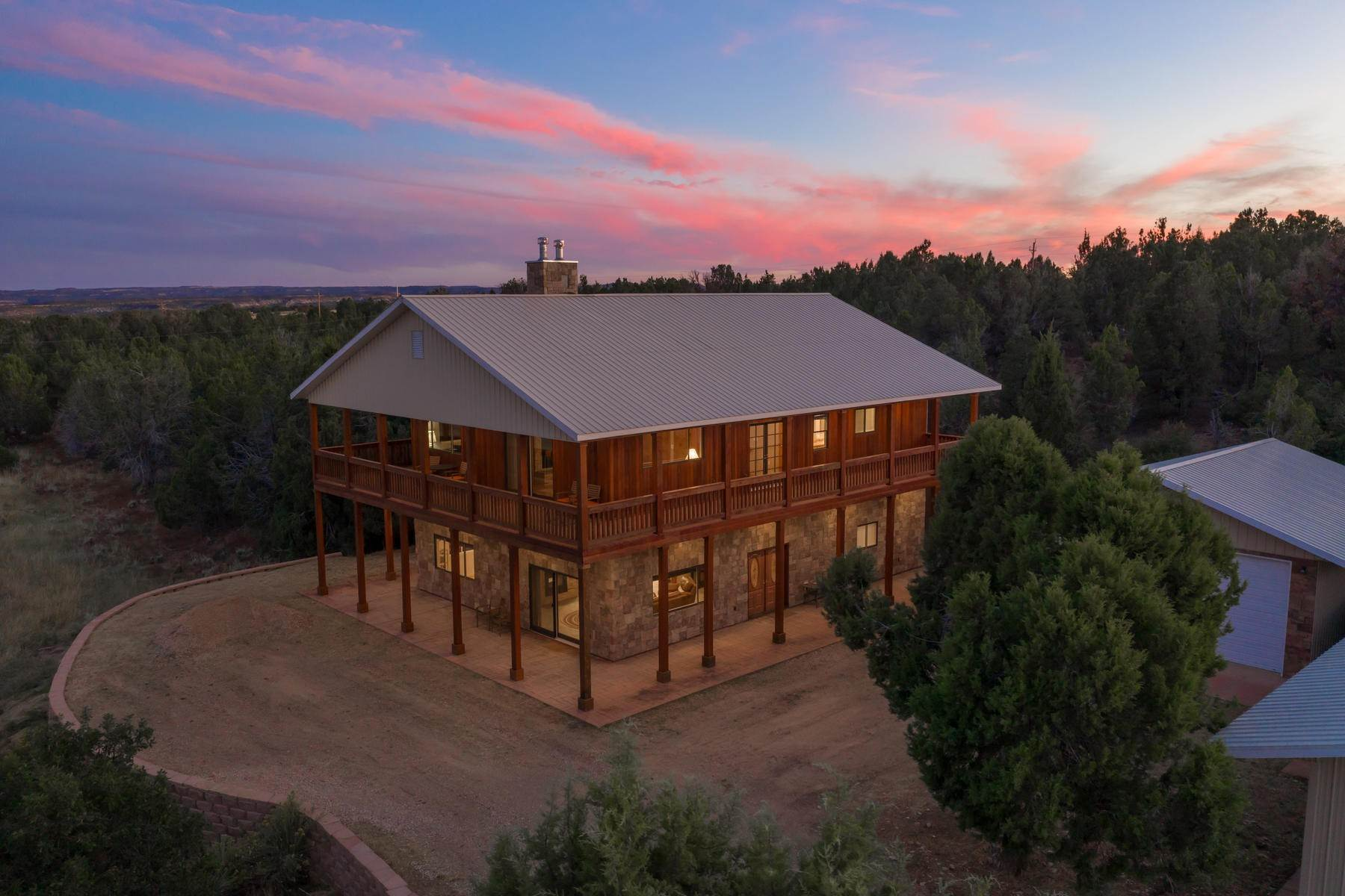 Farm and Ranch Properties for Sale at Secluded East Zion Estate 5500 West Hwy 9 Mount Carmel, Utah 84755 United States