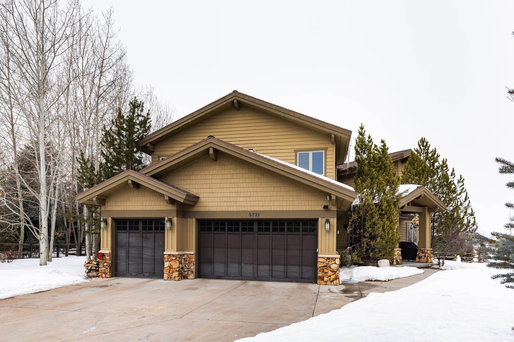 Single Family Homes for Sale at Rare Listing in Ranch Place 5231 Sandhill Court Park City, Utah 84098 United States