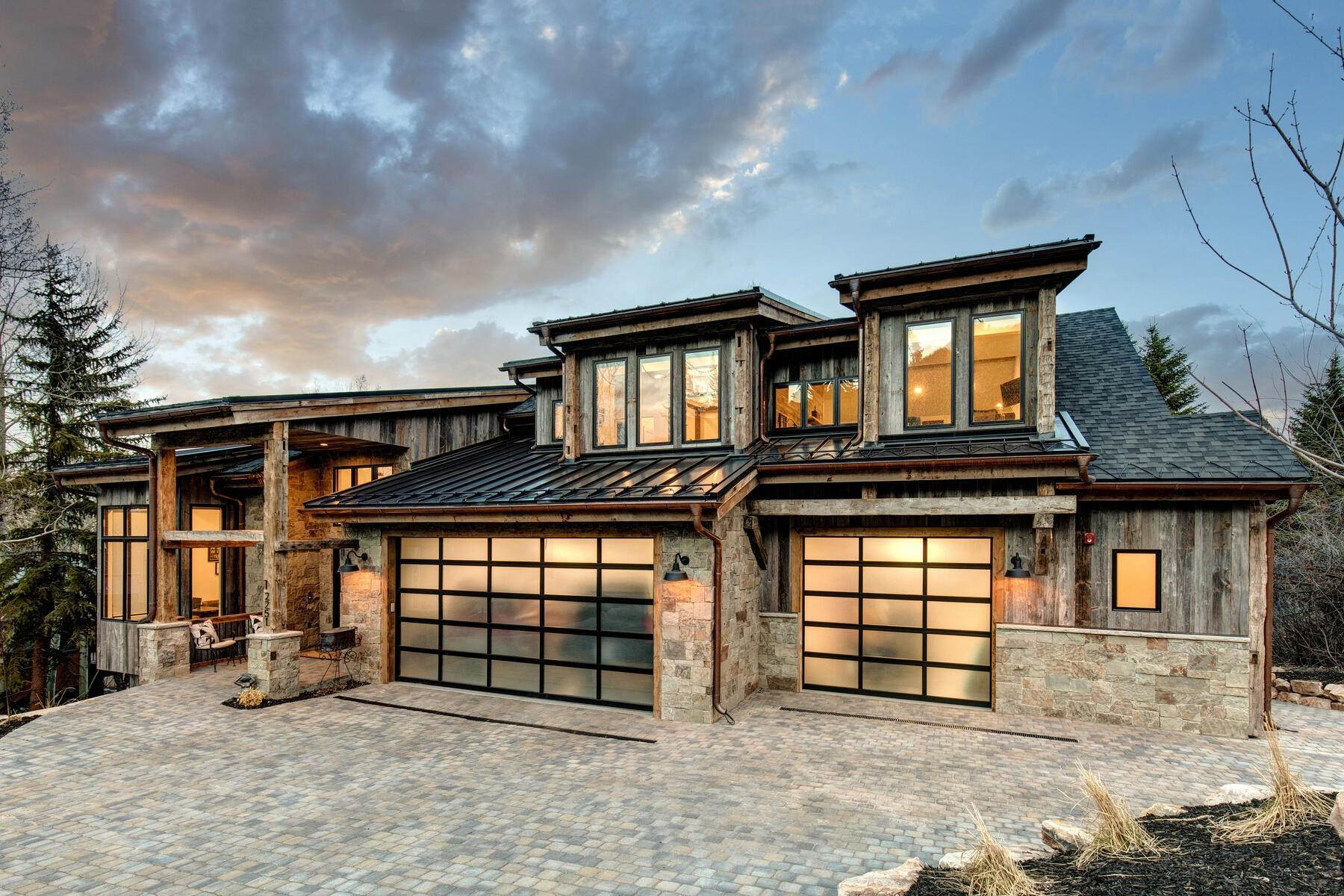 Single Family Homes for Sale at An Extraordinary Newly-Constructed Mountain Modern in the Heart of Town 2251 Morning Star Dr Park City, Utah 84060 United States