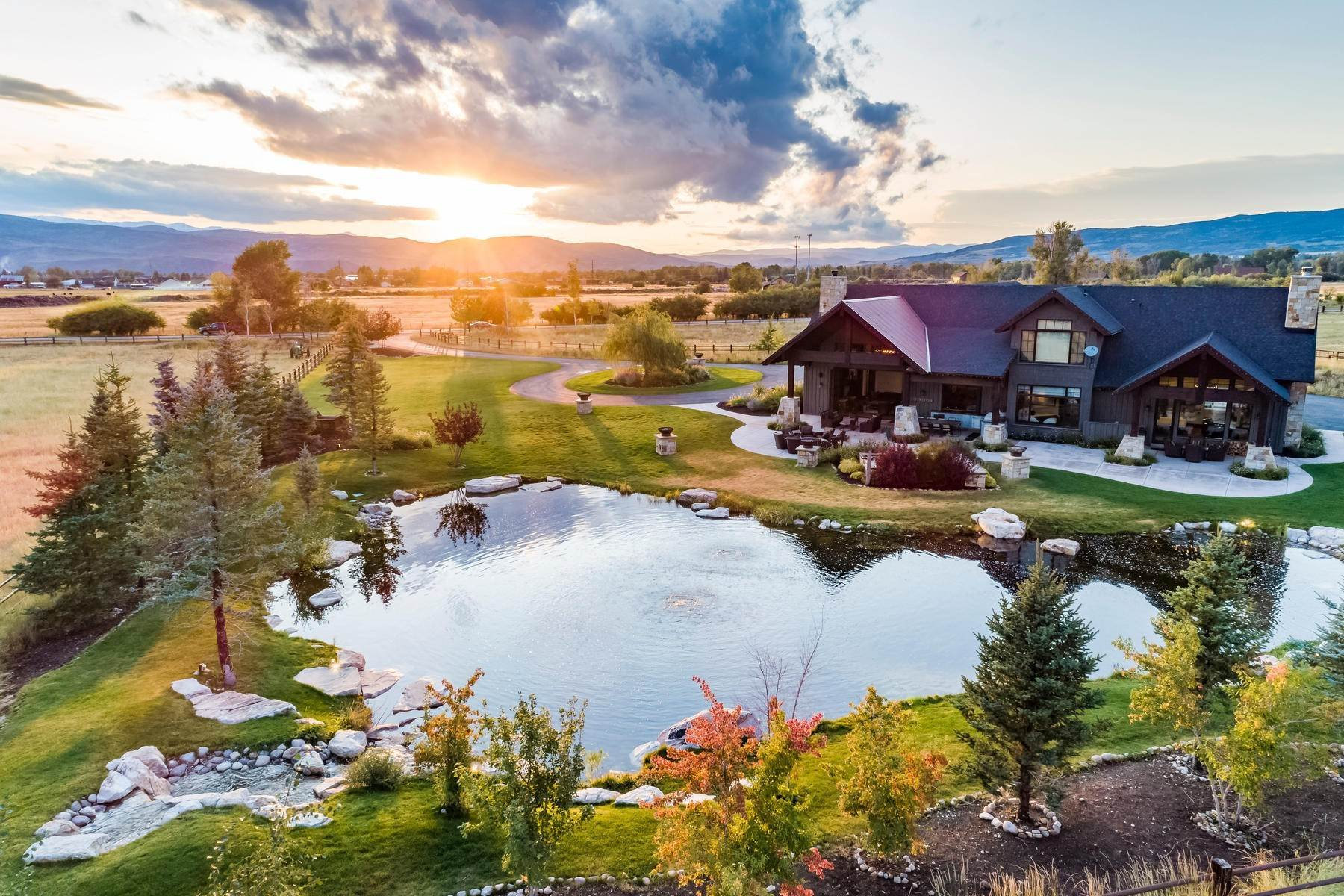 Farm and Ranch Properties at Gorgeous Twilight Moon Ranch in Oakley, Utah 425 E Boulderville Rd Oakley, Utah 84055 United States